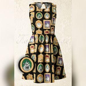 Retrolicious Cat Picture Dress